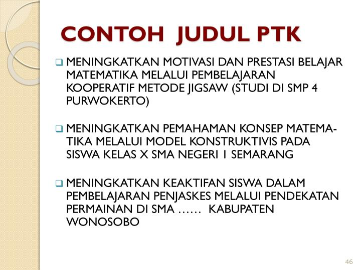 Contoh Ptk Penjaskes Sd Apalonbazaar S Blog