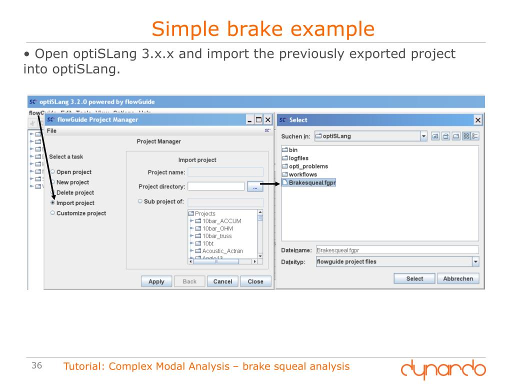 PPT - Performing a parametric Brake Squeal Analysis in ANSYS WB and