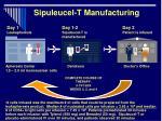 sipuleucel t manufacturing