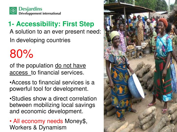1- Accessibility: First Step
