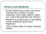 picture and rhythmic