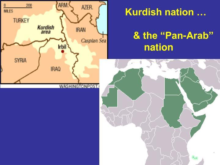 Kurdish nation …
