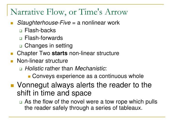 Narrative Flow, or Time's Arrow