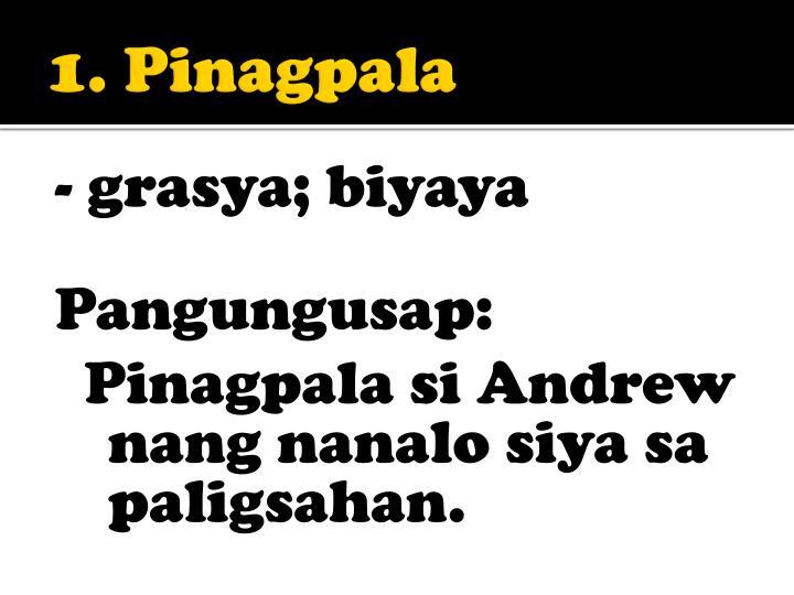 1 pinagpala