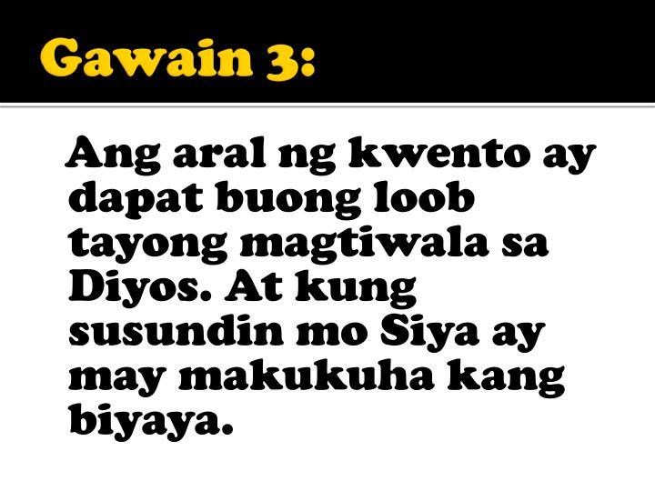 Gawain 3: