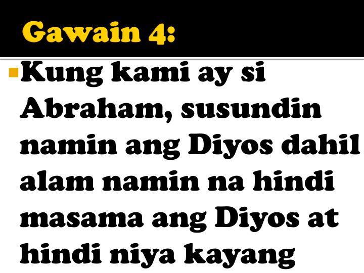 Gawain 4: