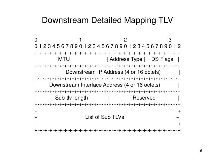 Downstream Detailed Mapping TLV