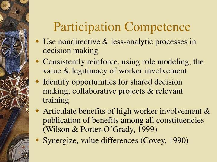Participation Competence