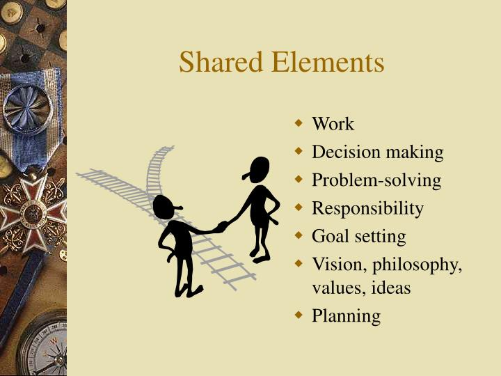 Shared Elements