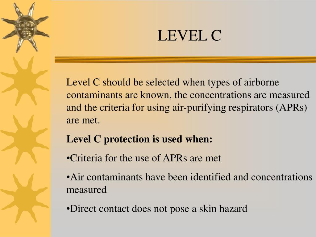 Ppt Chemical Protective Clothing Powerpoint Presentation