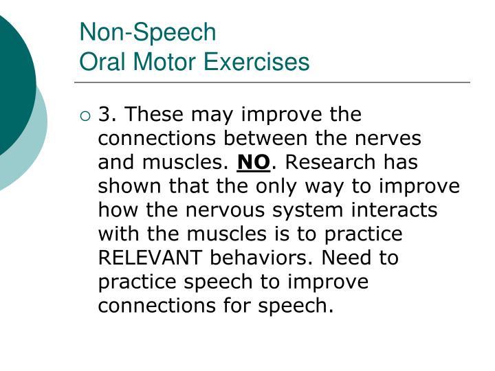 Non-Speech