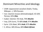 dominant minorities and ideology