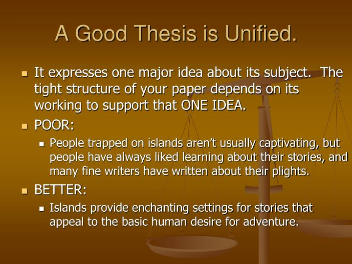 how to make a good thesis presentation