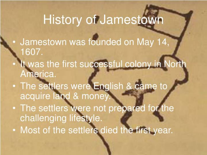 history of jamestown Kelso, the director of archaeology for the jamestown rediscovery foundation at historic jamestowne, and horn, the organization's president.