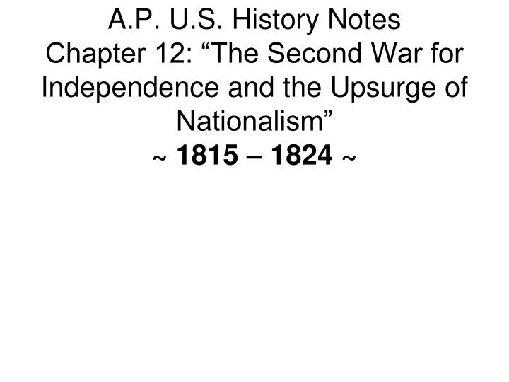 the second war for independence and the upsurge of nationalism worksheet answers Created date: 10/21/2015 7:24:34 am.