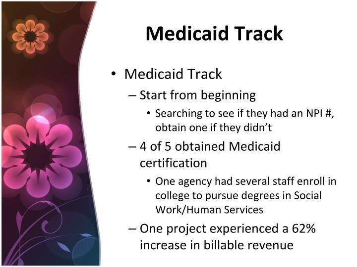 Medicaid Track