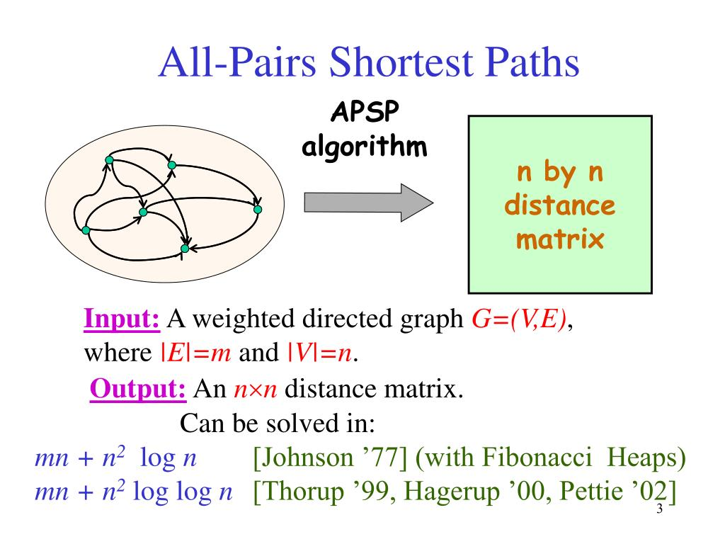 PPT - Answering distance queries in directed graphs using