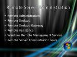 remote server administration1