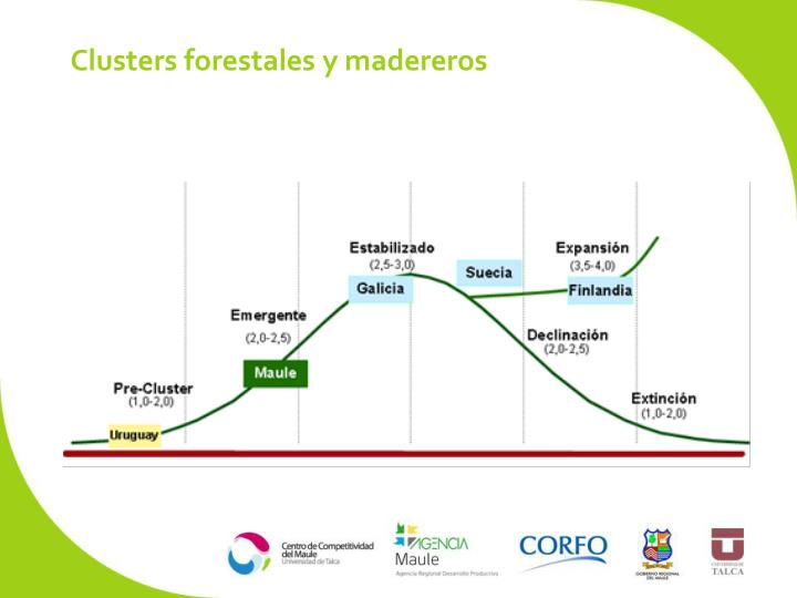 Clusters forestales y madereros