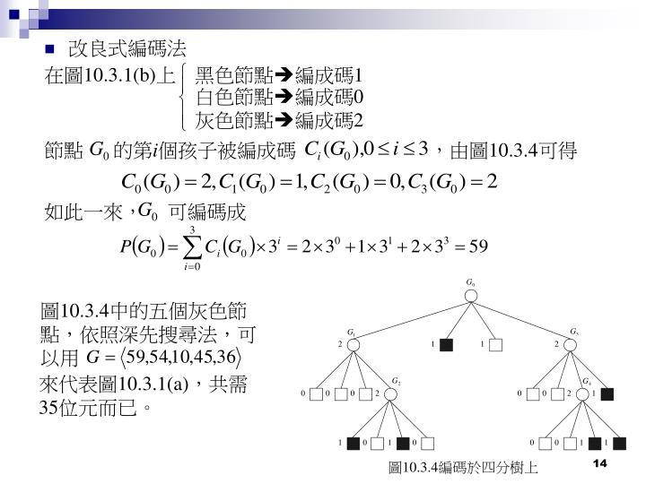改良式編碼法