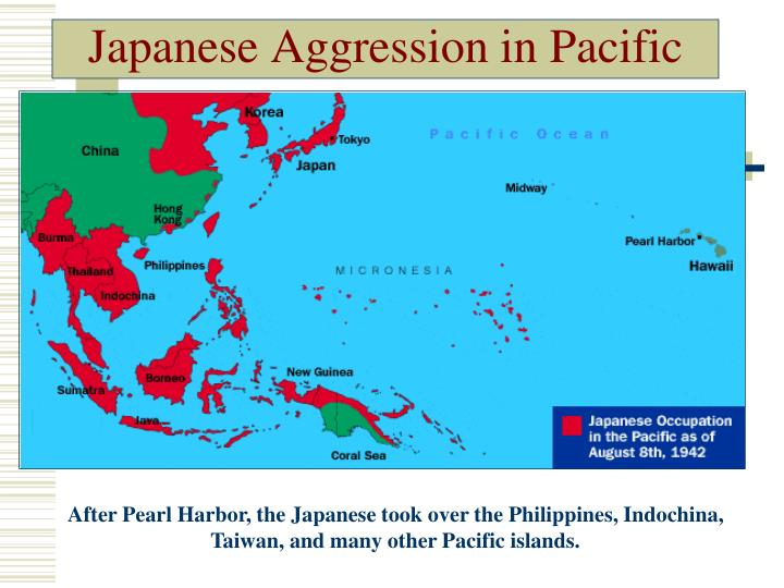 Japanese Aggression in Pacific