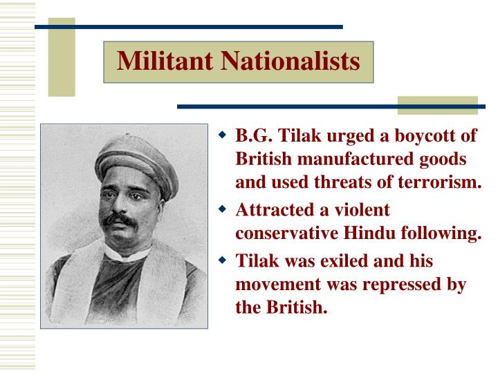Militant Nationalists