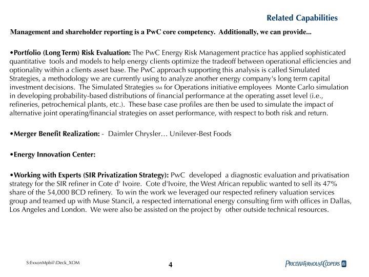 Related Capabilities