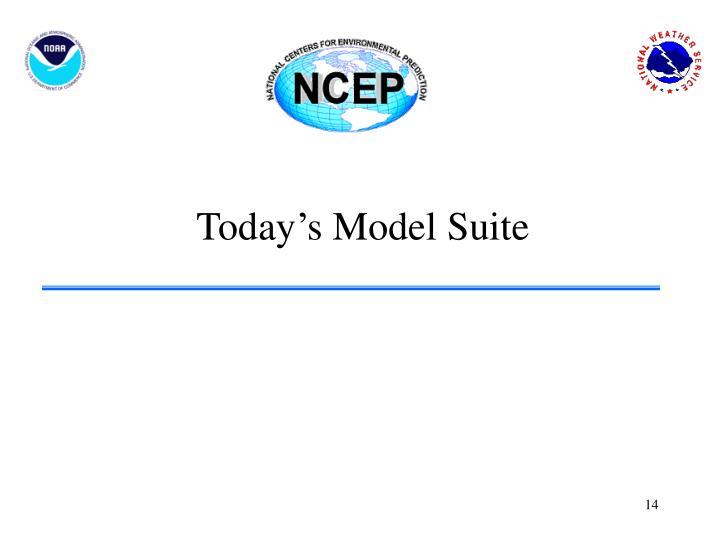 Today's Model Suite