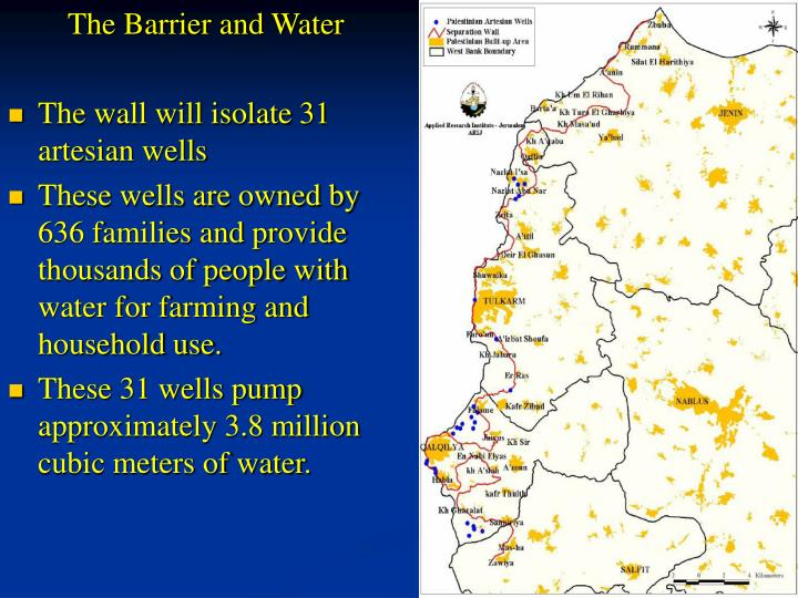 The Barrier and Water
