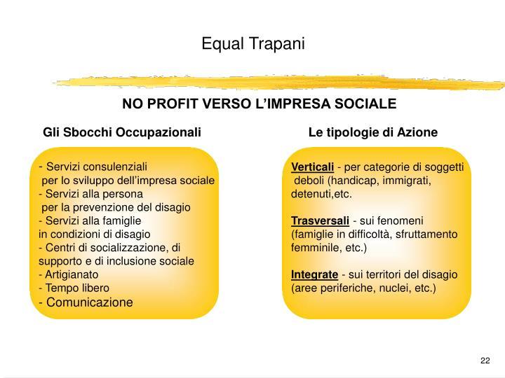 NO PROFIT VERSO L'IMPRESA SOCIALE