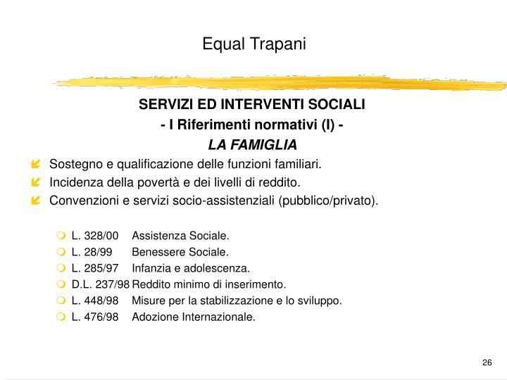 SERVIZI ED INTERVENTI SOCIALI