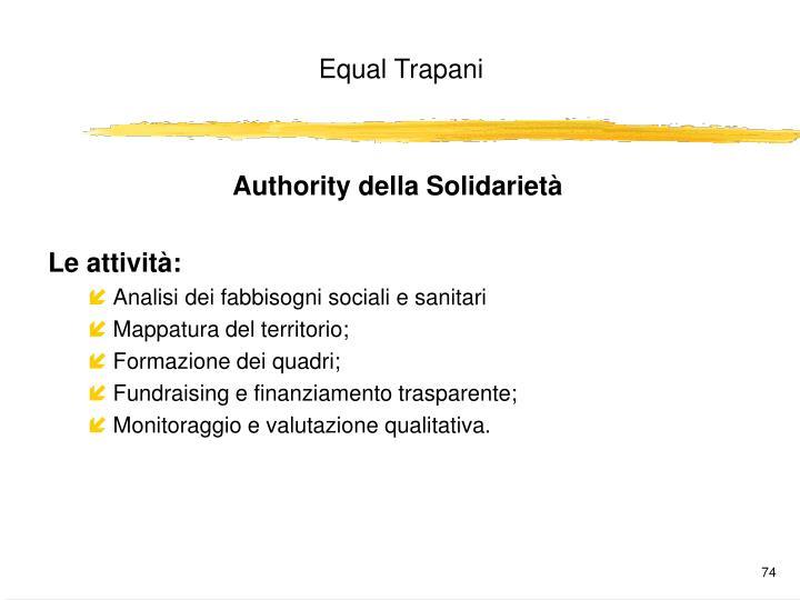Authority della Solidarietà