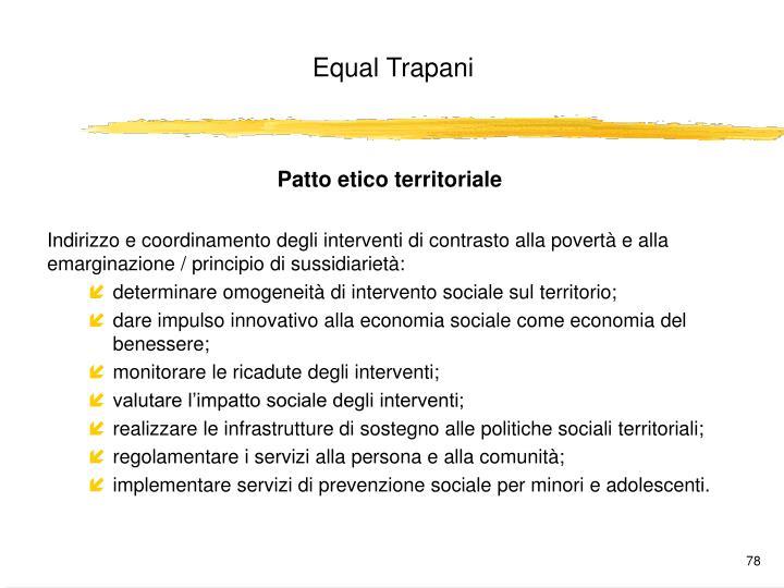 Patto etico territoriale