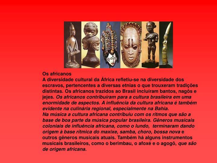 Os africanos