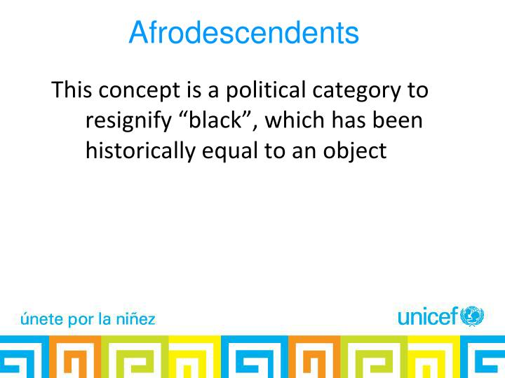 Afrodescendents