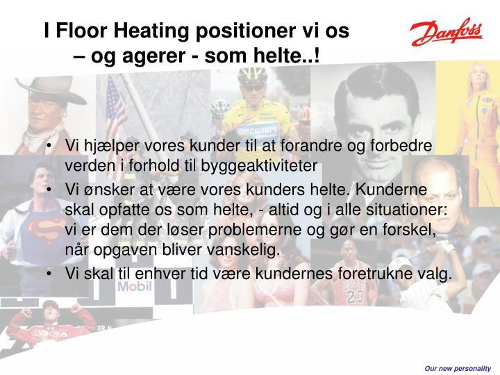 I Floor Heating positioner vi os