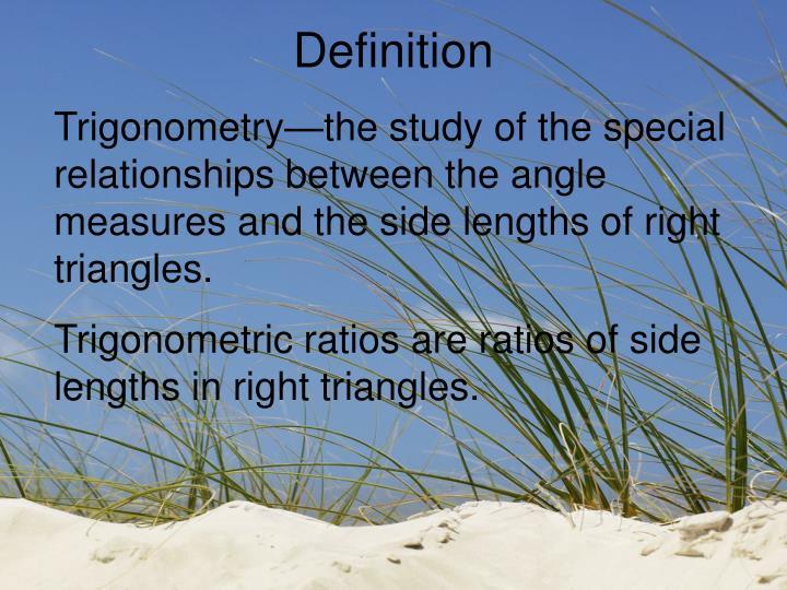 PPT - 7-3A Trigonometric Ratios PowerPoint Presentation - ID