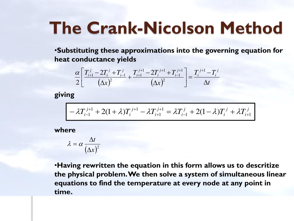 PPT - Parabolic Partial Differential Equations PowerPoint
