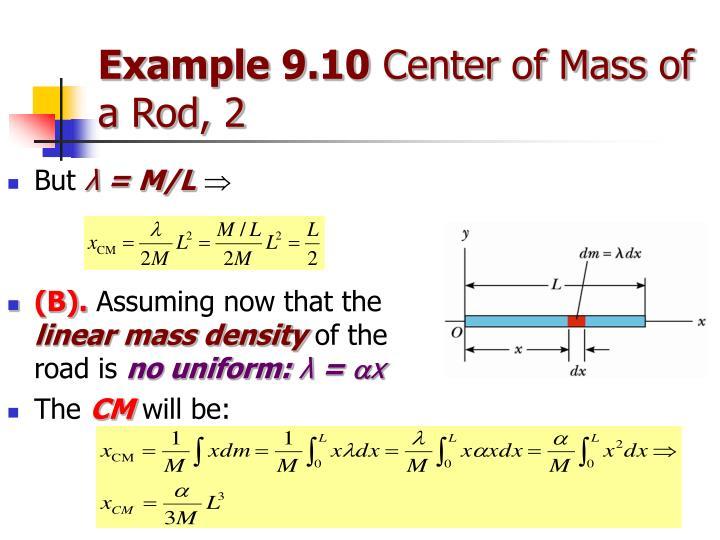 Example 9.10