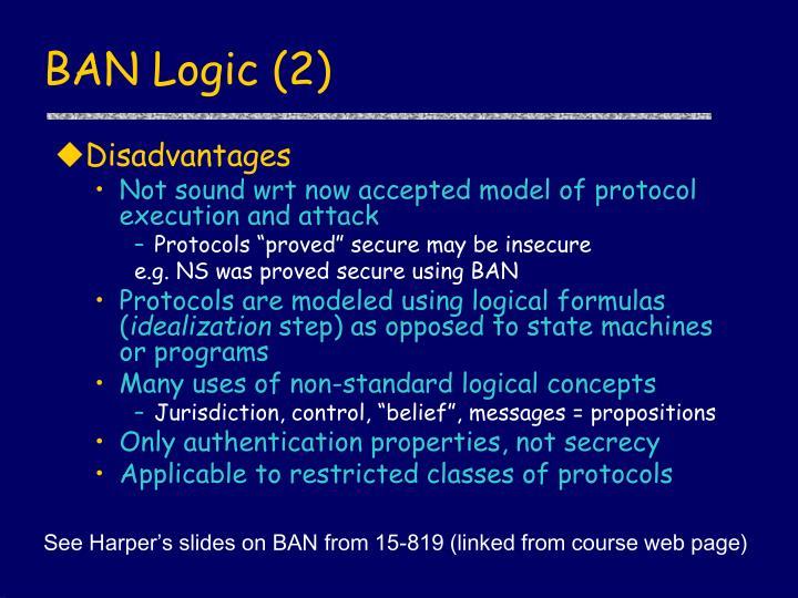 BAN Logic (2)