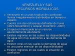 venezuela y sus recursos hidr ulicos