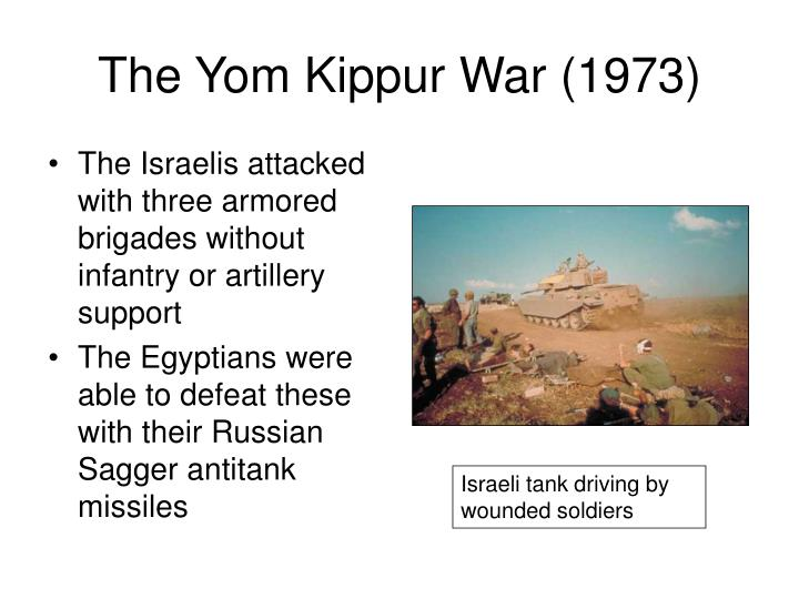 The Yom Kippur War (1973)