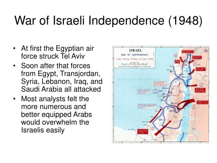 War of Israeli Independence (1948)