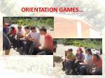orientation games