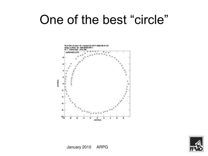 """One of the best """"circle"""""""