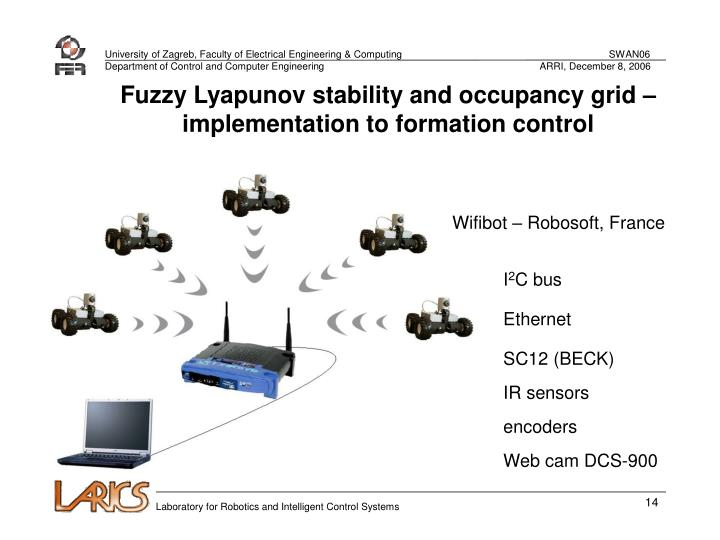 Fuzzy Lyapunov stability and occupancy grid – implementation to formation control