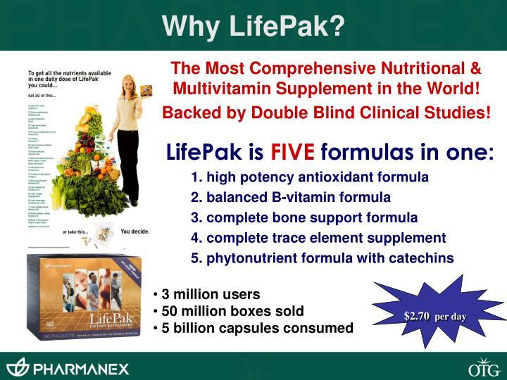 Why LifePak?