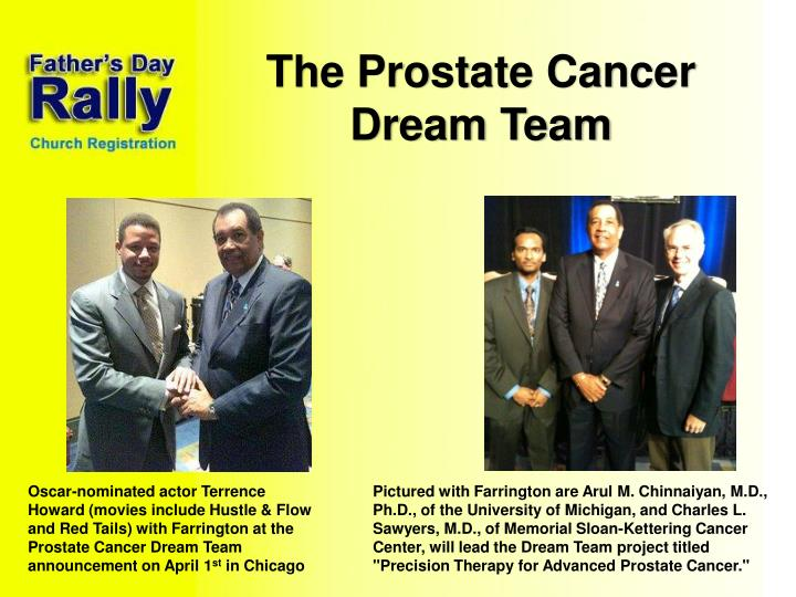 The Prostate Cancer Dream Team
