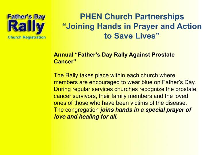 PHEN Church Partnerships