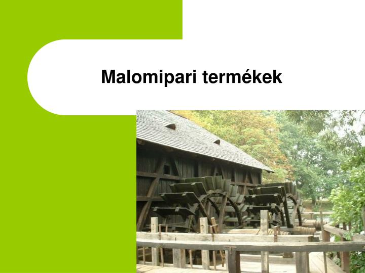 Malomipari term kek